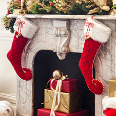 Christmas Stockings & Holders