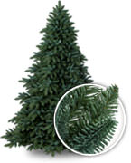 realistic trees with up to 65 true needle foliage with classic needle strategically placed for fullness shop now - Fake Christmas Trees